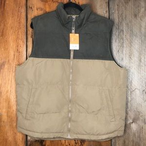 St Johns Bay The Lodge Puffer Vest Large NWT